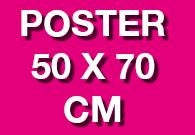 Poster 50 x 70 cm
